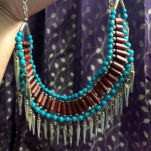 Boho Tribal Statement Necklace